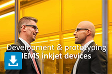 MEMS Inkjet devices presentation PDF Philips Innovation Services