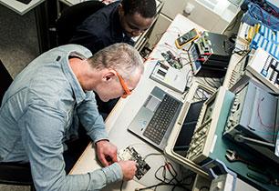 Small signal analog processing