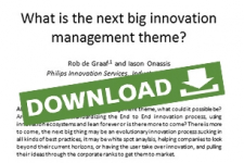 What is the next big innovation theme