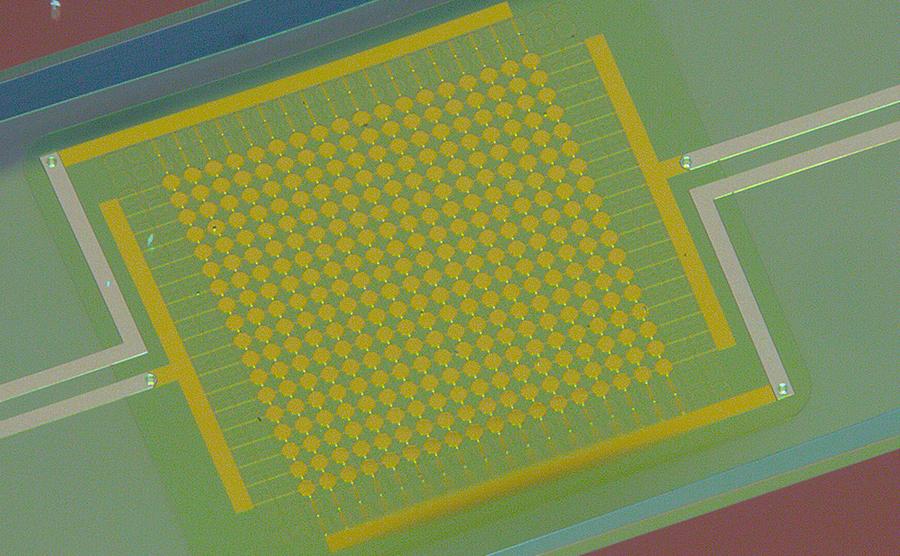 Custom CMUT array on flexible foil