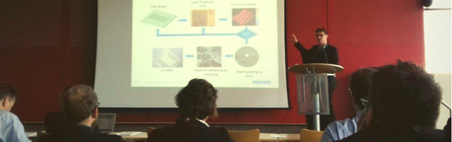 Manufacturing of shims for micro-fluidics presentation by René Sanders, Technologist at Philips Innovation Services
