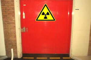 radioactief materiaal slakkenwol brandwerende deur Philips Innovation Services Environment & safety