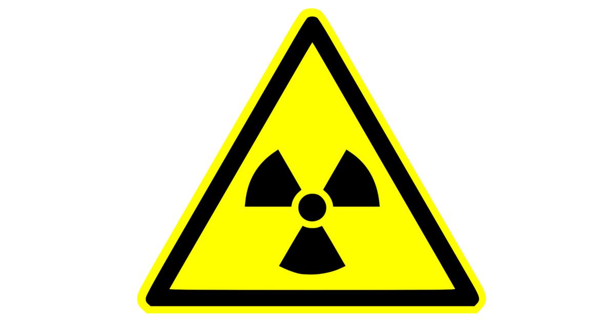 Brandwerende deuren met radioactief materiaal