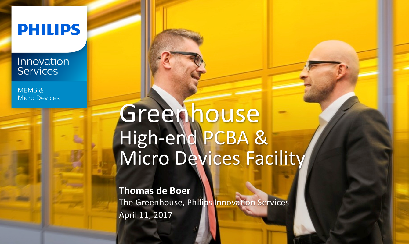 Micro Devices Facility The Greenhouse by Thomas de Boer