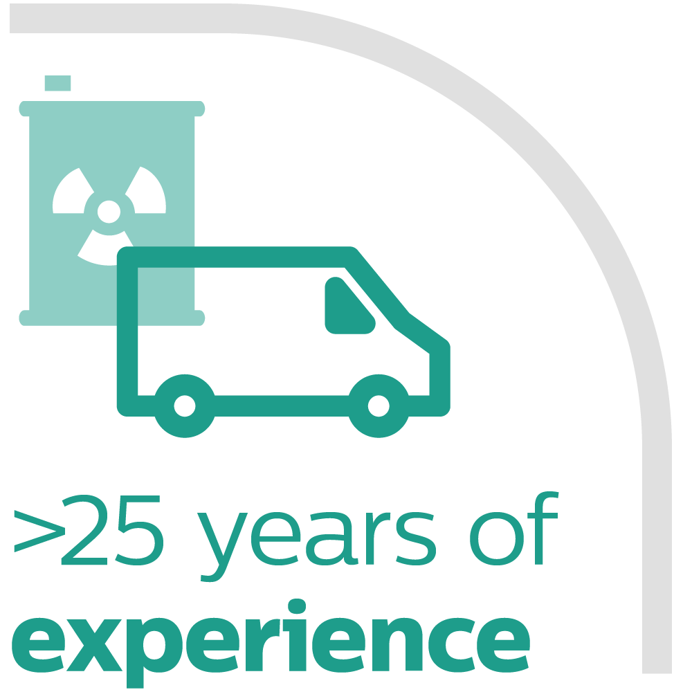 More than 20 years of experience with transport & trade of chemicals and dangerous goods for multinationals