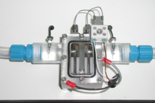 Model based design for a fluid stream heater