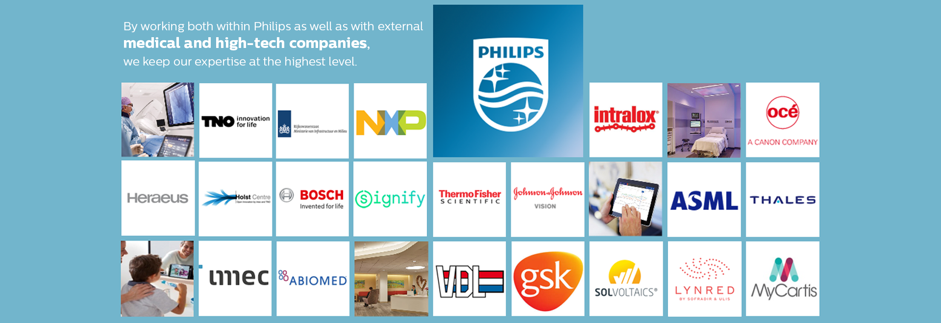 Philips Innovation Services - customer logo's