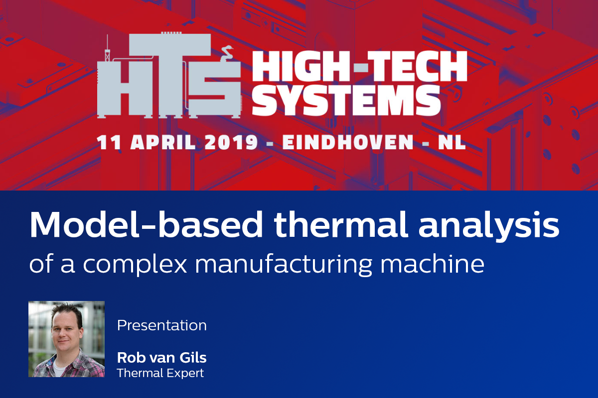 High-Tech Systems 2019 - Model-based thermal analysis