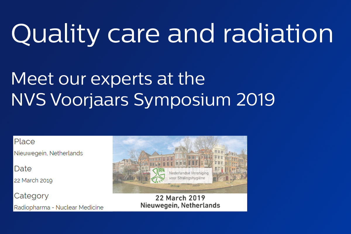 NVS voorjaars symposium 2019 - Quality care and radiation