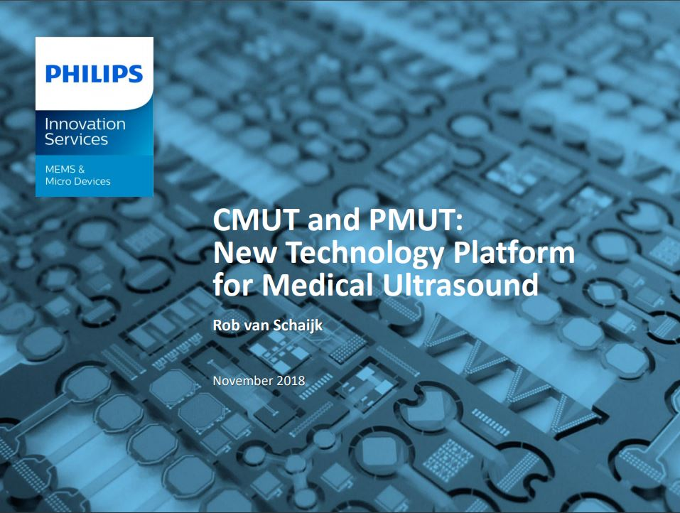 Capacitive micromachined ultrasonic transducers | Philips