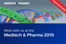 Meet with us at the Medtech & Pharma 2019