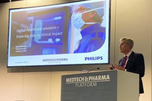 Medtech and Pharma - Digital healthcare solutions, a presentation by Hans Hofstraat Philips Research