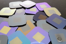 Collection of thin film membranes