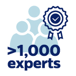 1000 experts
