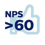 NPS >60